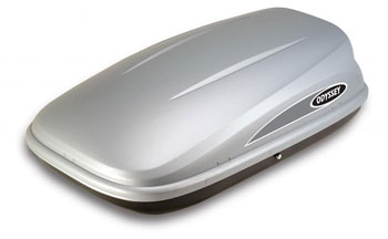 Thule Karrite Roof Box Odyssey 470 Litre Box Silver