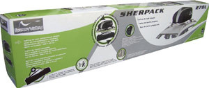 Roll over image to zoom in Green Valley Sherpack 158002 Folding Roof Box